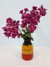 Home Decor Flower Pot Handmade wood flower pot Multi Color pot  Only Pot