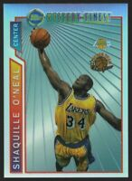 1996-97 TOPPS MYSTERY FINEST BORDERED REFRACTORS #M12 SHAQUILLE O'NEAL — NM (7)+