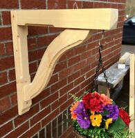 1 x Gallows Bracket by George Woods - Wooden Timber Porch Bespoke Basket- SNAKE