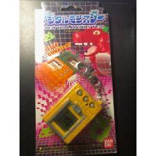 Original Bandai 1997 Virtual Pet Digimon Digivice Yellow Brick V1.0 Works NIce