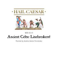 Pack Of 4 Celtic Linebreakers Miniatures - Warlord Games Hail Caesar Ancient