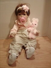 1994 Sugar Britches BOOTS TINER DESIGN REPRODUCTION Jointed Porcelain Baby Doll