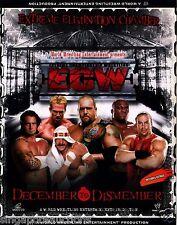 2006 WWE / ECW - DECEMBER TO DISMEMBER (ORIGINAL 3 X VCD SET)