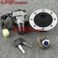 Motorcycle Ignition Switch Lock Key Gas Cap Set For Suzuki GS500 2001-2012 2002