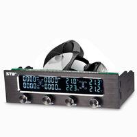 Eg _ Affichage LCD PC CPU 4 Canal Ventilateur Manette Vitesse Contrôle Panneau