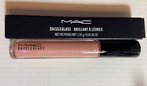 NEW MAC DAZZLEGLASS SUGARRIMMED WHITE PINK PEARL GLITTER LIPGLASS Lip Gloss