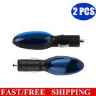 2pcs Car Saving Gas Cigarette Lighter Fuel Saver Plug Play Veh Device Economizer