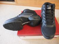 Black Rumpf Vision hi-top split sole Dance Sneaker (1595)- size UK 4
