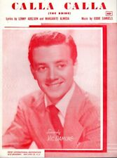 Calla Calla, 1951, Vic Damone on the cover, by Adelson, Almeda and Samuels