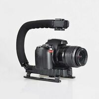 C/U shape Bracket Handle Grip Stabilizer for Canon Nikon DSLR Camera Camcorder