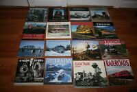 Collection of Assorted Railroading Calendars as a lot of 16, new, never used