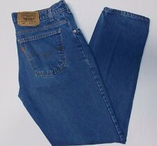 Levi's 506 Straight Leg Denim Blue Jeans Sz 38 x 32 VTG USA Made - Super!