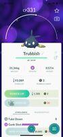 Pokemon Go Shiny Trubbish - Catch - Acc PTC - GG - FB Guaranteed - Describe