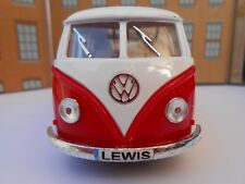VW CAMPER VAN BUS PERSONALISED NAME PLATES Toy Car MODEL DAD BOY BIRTHDAY GIFT