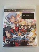 BlazBlue: Chrono Phantasma Sony PlayStation 3 - PS3 - Factory Sealed! Free Ship!
