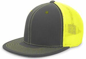 Pacific Headwear ORIGINAL Blend D-Series Trucker Mesh Flexfit Cap Hat 4D5 NEW!