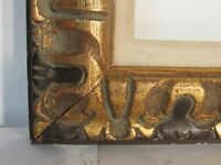 ART NOUVEAU HAND CARVED  GILDED FRAME FOR PAINTING  20 x 16  INCH   (g-9)