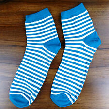 1Pairs Women Socks Lot Classic Cotton Stripes Socks 12*22cm DWZ94