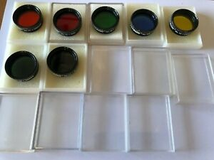 """Celestron Complete Filter Set - 7 Filters with paperwork from Celestron - 1.25"""""""