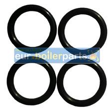 4 X IDEAL MINI HE C24 C28 C32 BOILER DHW Heat Exchanger O'Ring Seal 075401