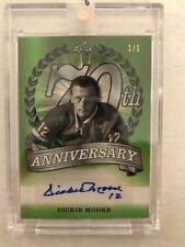 17-18 LEAF 70TH ANNIVERSARY Dickie Moore AUTO 1/1 SIGNATURE