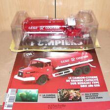 Camions Sapeurs Pompiers Hachette/Ixo 1/43 Renault GBH 280 6x6