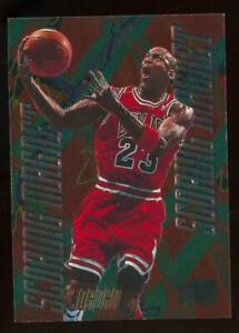 1996 Fleer Metal Scoring Magnet #4 Michael Jordan