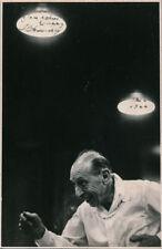Igor STRAVINSKY (Composer): Signed Photograph