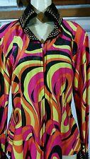 Showmanship Pleasure Horsemanship Show Jacket Shirt Rodeo Queen Western Womens S