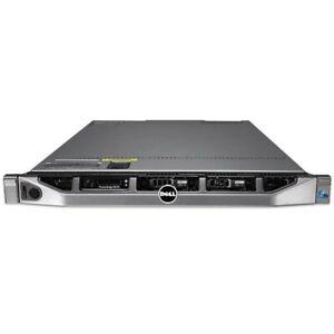 Dell PowerEdge R610 Server - 2 x Intel Xeon CPU - up to 128GB RAM - 2 x PSU