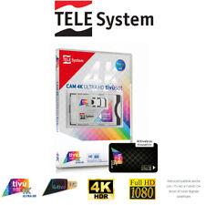 More details for telesystem tivùsat 4k ultra hd cam + pre activated smartcard