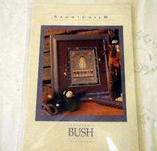 """Kit Point de croix SHEPHERD'S BUSH """" SNOW CHILD """" fils de soie + toile"""