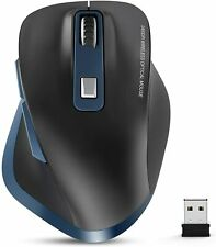 Wireless Mouse, 2.4G USB Mouse Computer Optical Mouse Full Size Random Color