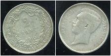 BELGIQUE 2 francs 1910  argent   (des belges)