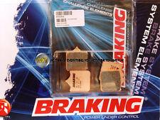 PER KTM SMC 690 2008 08 PASTIGLIE ANTERIORE SINTERIZZATE FRENO BRAKING CM55 SPOR