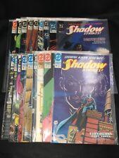 The Shadow Strikes # 1 - 17 + Annual  VF DC Comics 1989