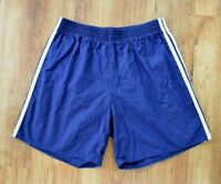 ADIDAS VINTAGE COTTON PT PE FOOTBALL RUNNING RETRO 80s 90s SHORTS SPRINTER D9 XL