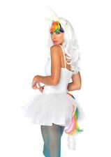 Sexy Rainbow Unicorn Fantasy Costume Accessory Kit