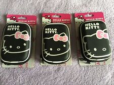 Lots of 3 Hello Kitty Hard Shell Camera Case - (BLACK)