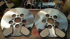 """NOS Harley Shovelhead 10"""" Brake Rotor And Pad Sets 79-83 FLT FLHT Electraglide"""