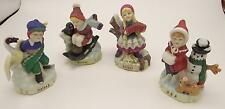 Lot 4 International Children of the World Figurines Ceramic Poland Norway