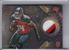 2014 TOPPS VALOR #VP-CS CHARLES SIMS ROOKIE RC 3-COLOR PATCH BUCCANEERS A134