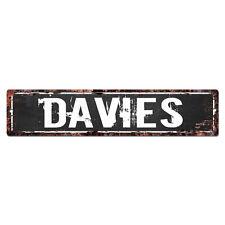 SLND0988 DAVIES MAN CAVE Street Chic Sign Home man cave Decor Gift Ideas