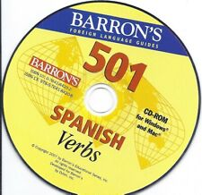 Barron's 501 Spanish Verbs Cd - learn spanish language course lesson Cd