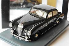 LAGONDA 3 LITRE BLACK 1955 NEO 45156 1/43 SCHWARZ NOIRE NOIR RHD RIGHT HAND
