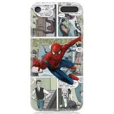 for Apple iPod Touch 5/6/7th Gen. Case Cover Comics Spider Man Cart