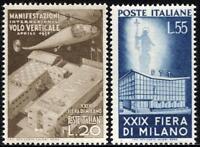 Repubblica - 1951 - Fiera di Milano - nuovi - MNH - Sassone n.657/658