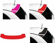 Fiat 500  2007 - 2015 Spoiler wing Decal Sticker Vinyl overlay any colour!