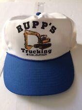 Vintage Rupp Trucking Trucker Mesh Hat 80s-90s retro NYC LA VTG Summer Hawaii