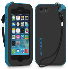 PUREGEAR BLACK/BLUE DUALTEK-XT CASE BUILT-IN SCREEN PROTECTOR FOR iPHONE 5 5s SE